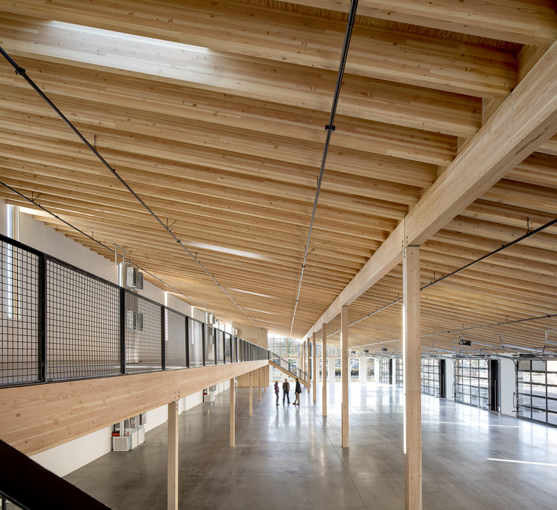 Lever 187 News 187 Construction Complete On New Mass Timber